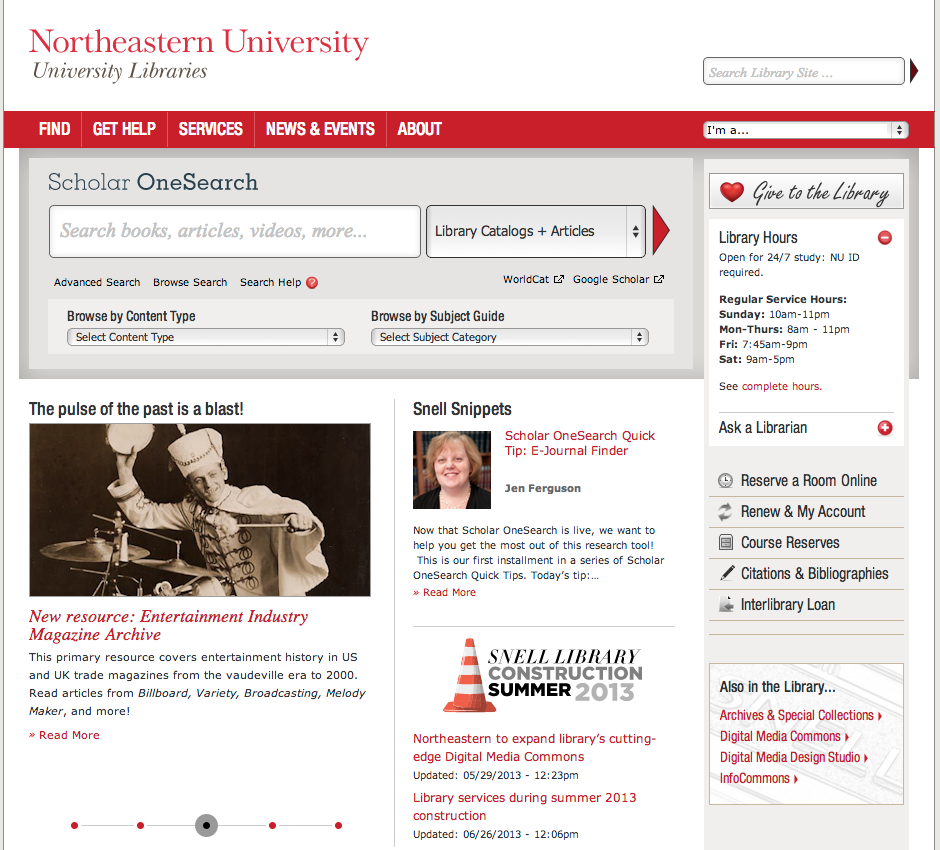 NEU.EDU_Library